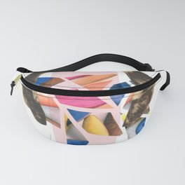 Coloured Hair Fanny Pack