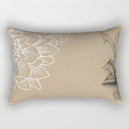 Samurai Mask Version B Rectangular Pillow