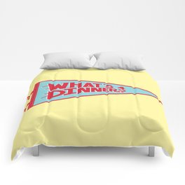 What's 4 Dinner Comforters