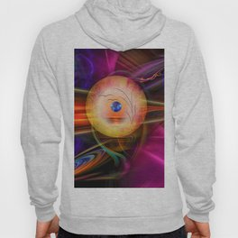 Abstract in perfection -Meditation Hoody