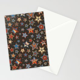 Doodle Stars Stationery Cards