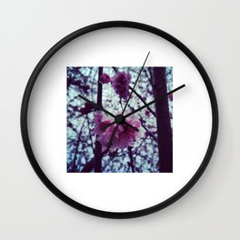 Spring into my Life. Wall Clock