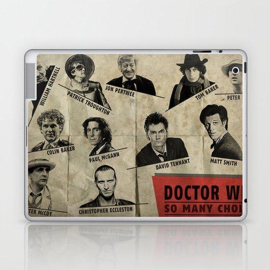 So Many Choices (Doctor Who) Laptop & iPad Skin