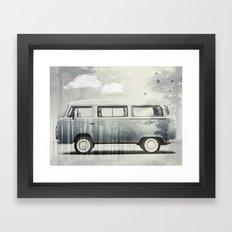 Kombie Dreaming Framed Art Print