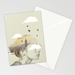 New York City Drifting Stationery Cards