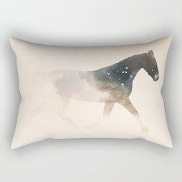 Clouded Horse Rectangular Pillow