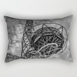 The Arcelormittal Orbit Monochrome Rectangular Pillow