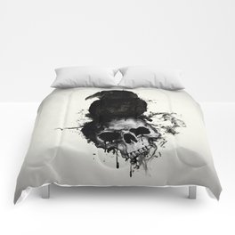 Raven and Skull Comforters