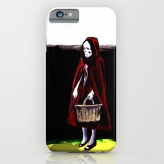 Little Blood Red Riding Hood iPhone 6s Slim Case