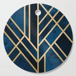 Art Deco Midnight Cutting Board