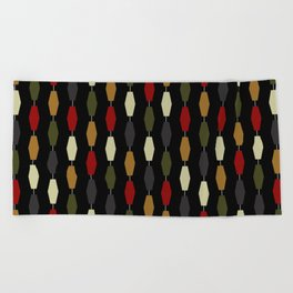 Colima - Black Beach Towel