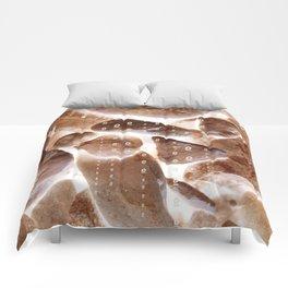 light between rocks gg Comforters