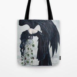 Despair Gothic Angel Tote Bag