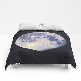 Blue moon Comforters