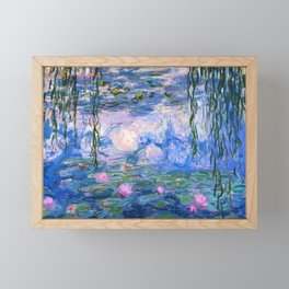 Water Lilies Monet Framed Mini Art Print