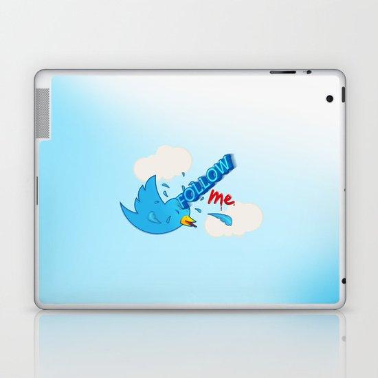 follow me! Laptop & iPad Skin