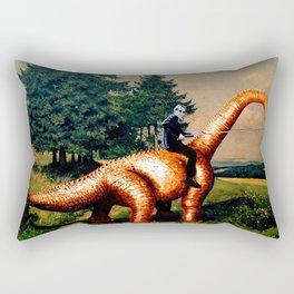 DINO and Sven - Readymade Rectangular Pillow
