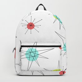 Atomic Age Colorful Planets Backpack