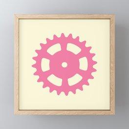 Cog and Roll (pastel) Framed Mini Art Print