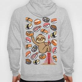 Sloth Sushi Tokyo Hoody