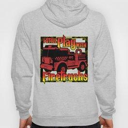 Firefighter Fire Truck Department Fire Engine Gift Hoody