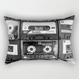 Something Nostalgic - black and white #decor #society6 #buyart Rechteckiges Kissen