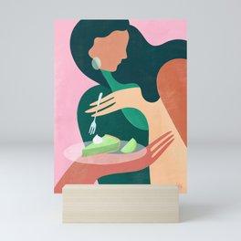 Treat yourself  Mini Art Print