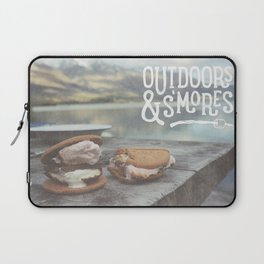 outdoors & S'mores Laptop Sleeve