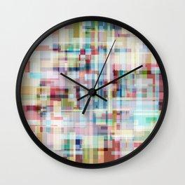 Boxes Wall Clock
