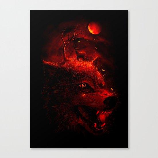 Red Dream Canvas Print