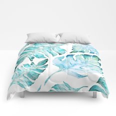 love tropical Comforters