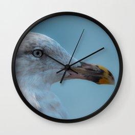Shorebird in close-up Wall Clock
