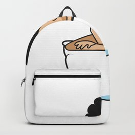 I Wasn't Ready Funny Person Gift Backpack