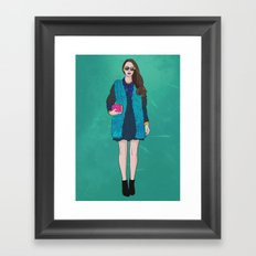 Touch of Pink Framed Art Print
