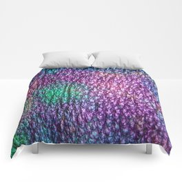 Northern Lights Eclipse Abstract Comforters