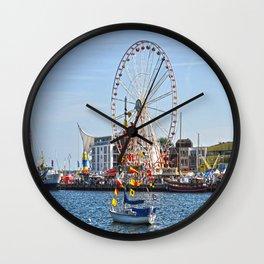 landscape baltic sea Wall Clock