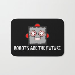 Robots are the Future Bath Mat