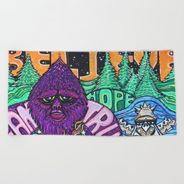 Believe Beach Towel
