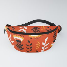 Bright floral decor Fanny Pack
