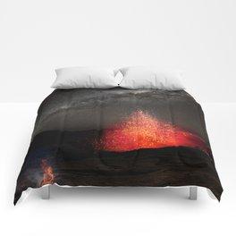 Kilauea Volcano Eruption .3 Comforters