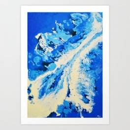 Icy North Art Print