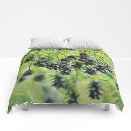 Snoqualmie Cones Comforters
