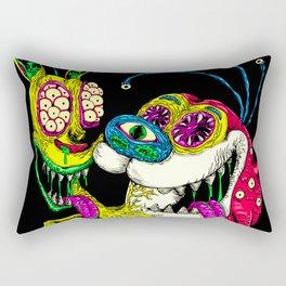 Monster Friends Rectangular Pillow