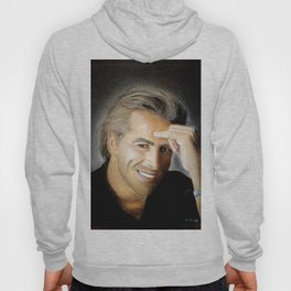 Don Johnson portrait with dry pastels Hoody