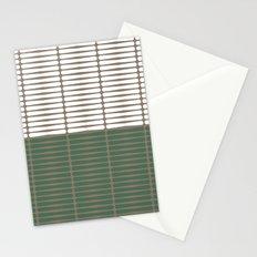 gomila (green/white) Stationery Cards