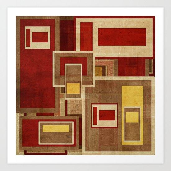 Textures/Abstract 93 Art Print