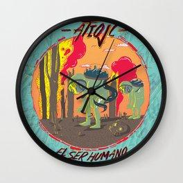 El Ser Humano Wall Clock