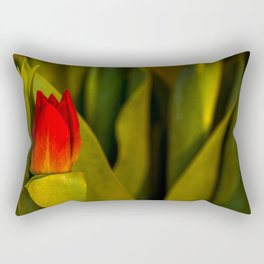 Concept Mother´s Day : Red tulips Rectangular Pillow