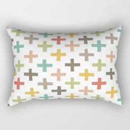 CRISSCROSSED Rectangular Pillow