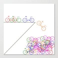 Bike 1, Vector, Design Canvas Print